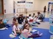 Deti v Dome umenia pred besedou