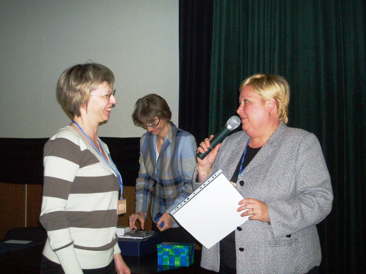 Odovzdávanie ceny sympatií TOP WebLib 2006