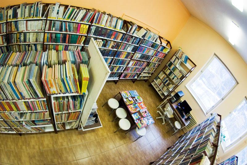 3f70306b6 Staromestská knižnica pobočka Západný rad - detské odd.