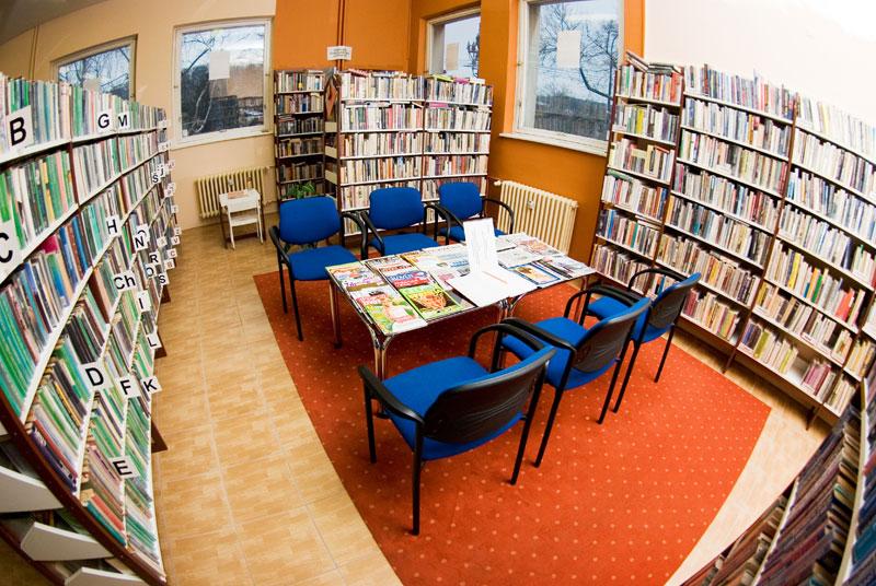 7221cec1f Staromestská knižnica pobočka Západný rad 5 - čitáreň