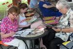Letná čitáreň v Medickej záhrade
